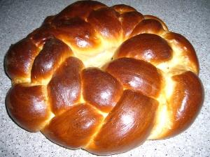 Round Braided Challah