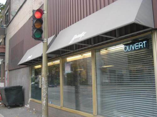 corner of street
